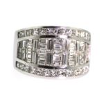 3.42 Carat Diamond Wedding Band