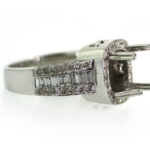 1.90 Carat Diamond Semi Mount Ring